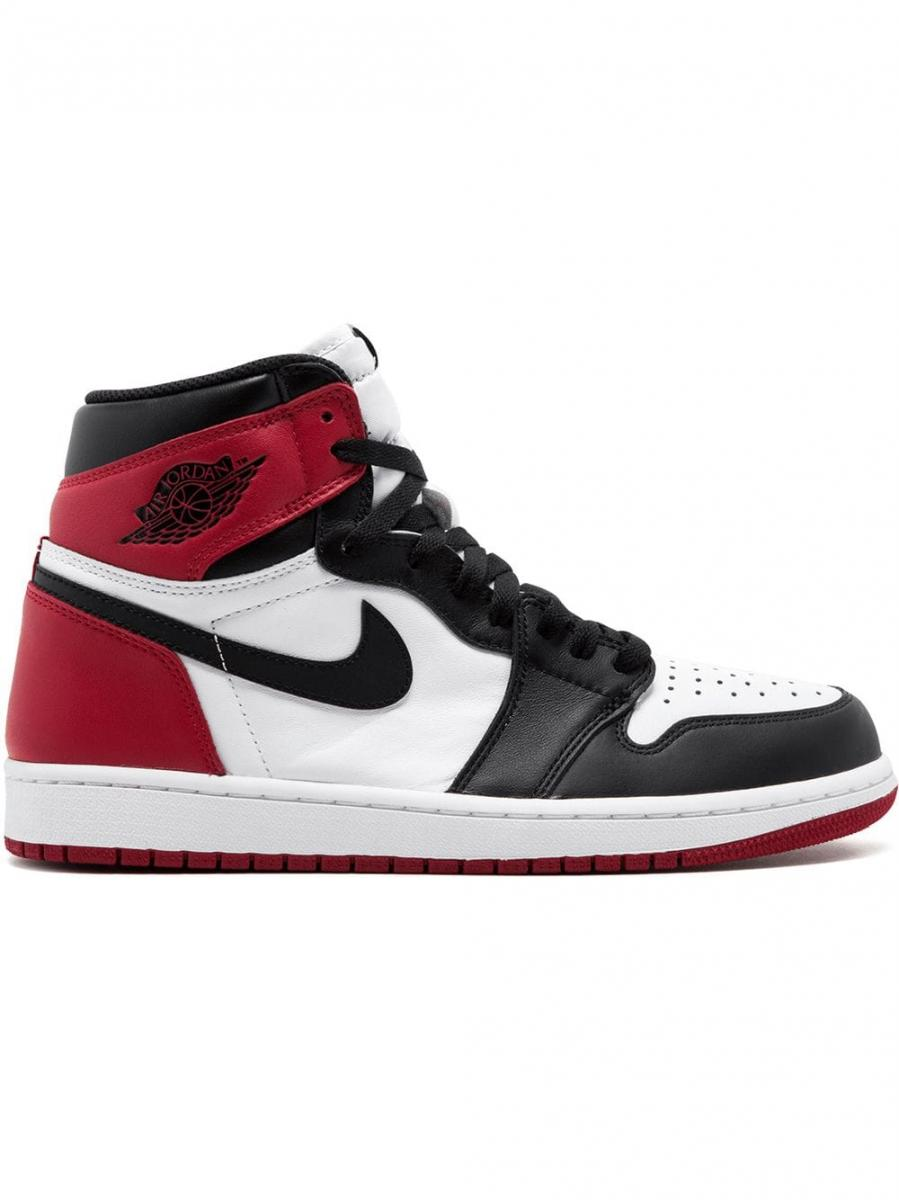 chaussure nike air jordan 1 homme rouge blanc