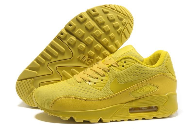 air max homme jaune